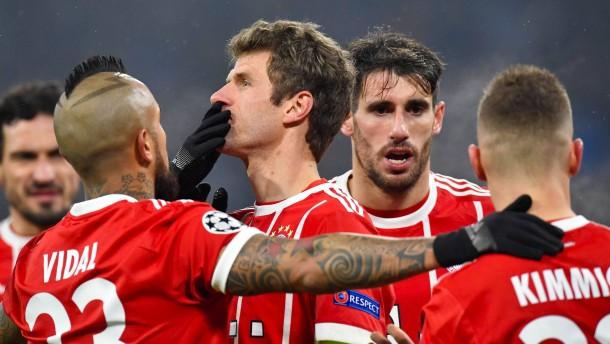 Losglück für Bayern in der Champions League
