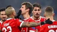 Auf dem Weg nach Kiew? Die Bayern stehen im Viertelfinale der Champions League.