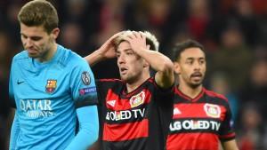 Leverkusen schlägt Barças Einladung aus