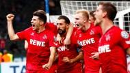 Jubel in der Hauptstadt: Köln gewinnt bei Hertha BSC.