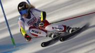 Unwiderstehlich: Lara Gut-Behrami auf ihrem Weg zum zweiten Gold.