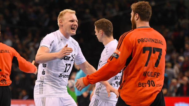 Kieler Handballer besiegen Flensburg