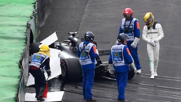 Vettel verpasst Pole Position nach Hamilton-Crash