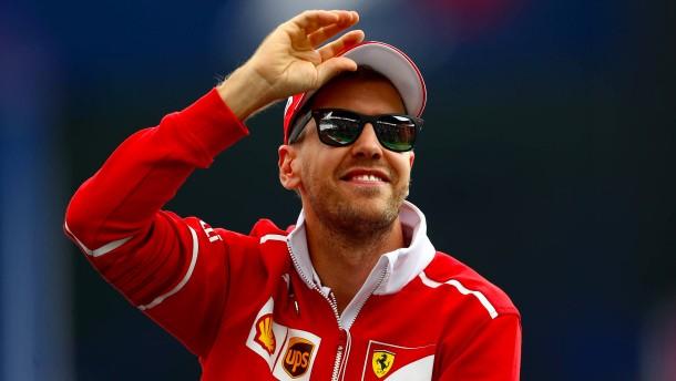 Vettel und Ferrari auf dem richtigen Weg