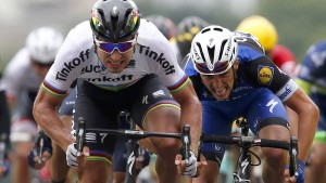Sagan löst Cavendish in Gelb ab