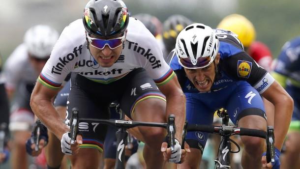 Sagan löst Cavendish in Gelb ab
