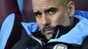 Guardiola gibt im Kampf gegen Liverpool auf