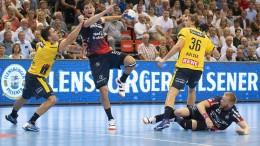 Flensburg gewinnt Topspiel gegen Löwen