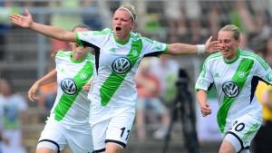 Wolfsburg ist im entscheidenden Moment da