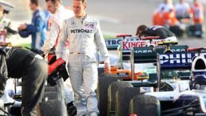 Schumacher ist zurück in seiner Welt