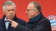 Kennt offenbar den Weg aus der Krise: Bayern-Chef Rummenigge gibt Ancelotti die Richtung vor