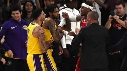 Schlägerei bei den Lakers