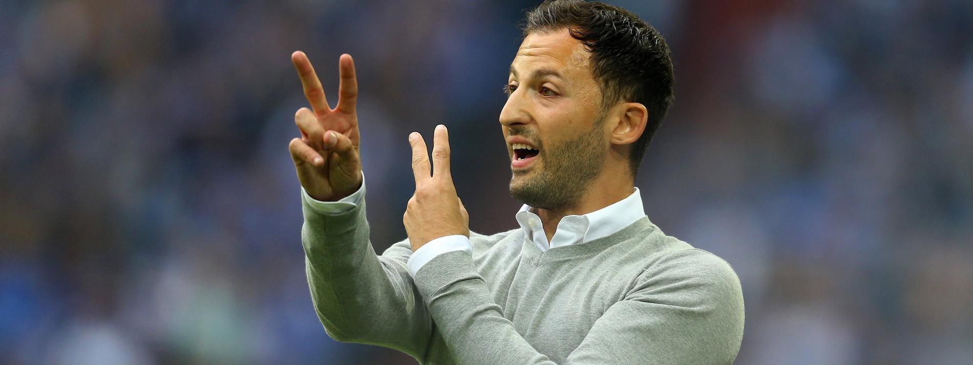 Fußball Trainer Domenico Tedesco Von Schalke 04 Im Interview