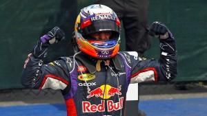 Ricciardo siegt vor Rosberg, Hamilton raus
