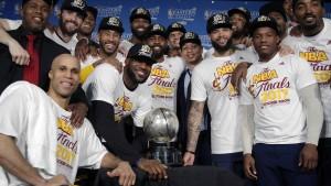 Das Traumfinale in der NBA ist perfekt