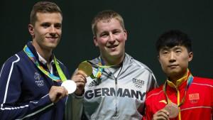 Christian Reitz trifft ins Goldene