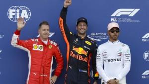 Der hochspannende Dreikampf in der Formel 1