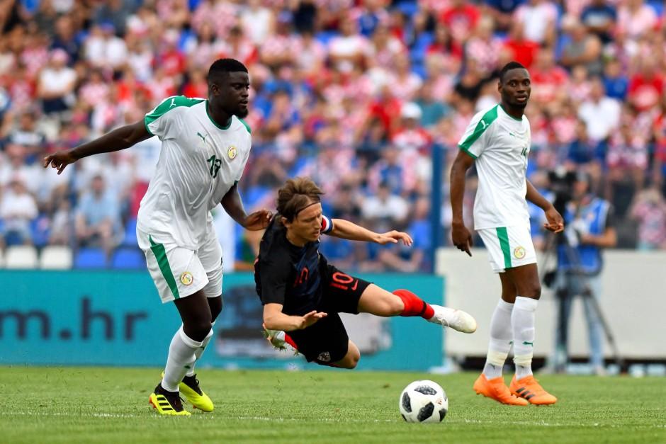 Wer sich gegen Senegals Abwehr durchsetzen will, muss einiges aushalten.