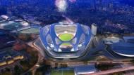 Krach um das neue Olympiastadion in Tokio