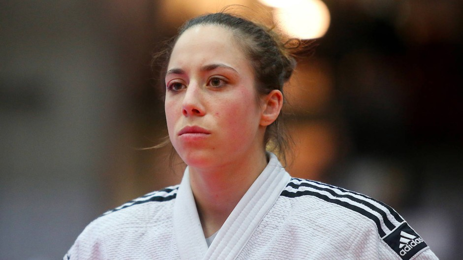 Wichtige Kämpferin beim Bundesliga-Finale: Backnangs Katharina Menz holt drei Punkte im Halbfinale - aber verliert den entscheidenden Kampf im Finale.