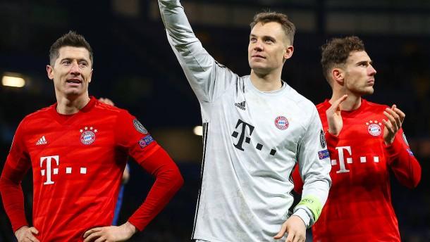 FC Bayern ohne Neuer, Lewandowski und Goretzka