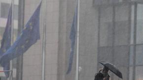 Genau das richtige Wetter in Brüssel für langwierige Verhandlungen