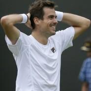 Konnte es kaum glauben: Guido Pella steht im Viertelfinale von Wimbledon.
