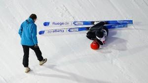 Schwerer Sturz von Leyhe überschattet Qualifikation