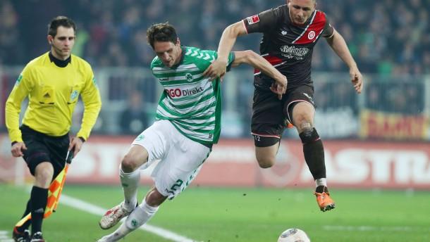 St. Pauli rettet Punkt gegen Fürth