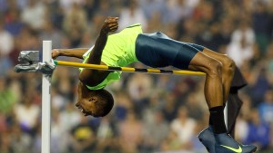 Qatars Barshim lässt den Weltrekord wackeln