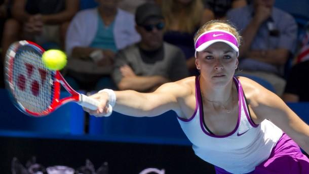 Drei deutsche Tennis-Damen gesetzt