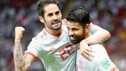 Portugal und Spanien sicher weiter