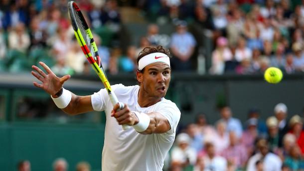 Nadal, Djokovic und die Aufschlagriesen