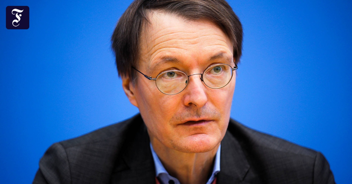 Lauterbach will mit Flick reden - FAZ - Frankfurter Allgemeine Zeitung