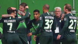 Und plötzlich ist Wolfsburg Zweiter