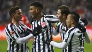 Im eigenen Stadion eine Macht: Auch gegen Mainz darf die Eintracht wieder ausgiebig jubeln.