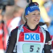 Vergangene Erfolgszeiten: Magdalena Neuner 2012 bei der Biathlon-WM in Ruhpolding