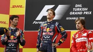 Vettel zurück in der Siegspur
