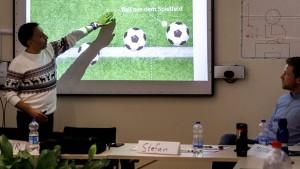 Berliner Fußball-Verband schult Flüchtlinge zu Schiedsrichtern