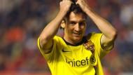 Die armen Haare können nichts dafür - Lionel Messi und Barca spielen in letzter Minute remis