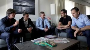 Özil und Gündogan treffen den Bundespräsidenten
