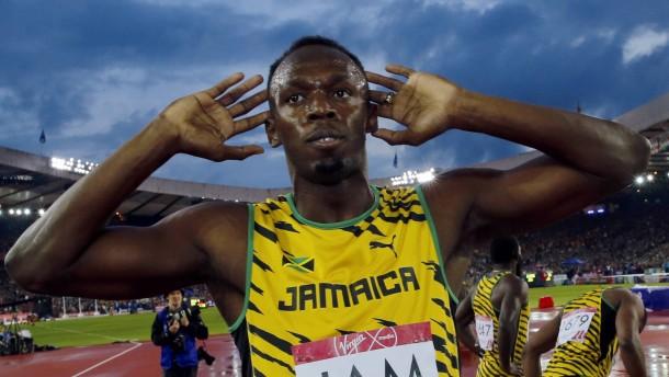 Aufregung um Usain Bolt