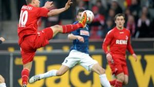 Podolski hebt Köln aus dem Keller