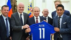 Fußball ist Putins Opium