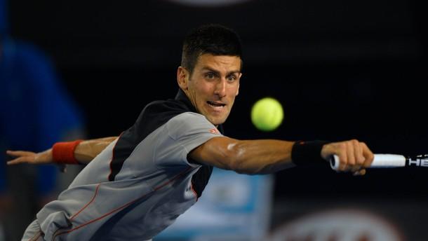 Djokovic folgt Kerber und Mayer ins Achtelfinale