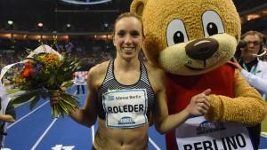 Cindy Roleder sprintet zu persönlicher Bestzeit