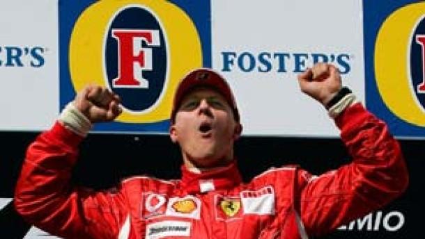 Ferrari hat wieder einen Renner - Schumacher siegt im Nervenspiel