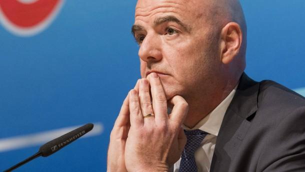 Fifa-Präsident Infantino wehrt sich