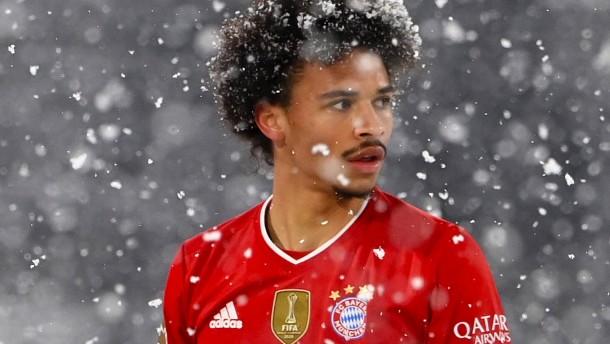 Ausrutscher im Schnee für den FC Bayern