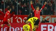 Es hat gemüllert: Thomas Müller trifft zum 2:0